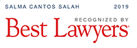 Salma Cantos Recognized by Best Lawyers 2019